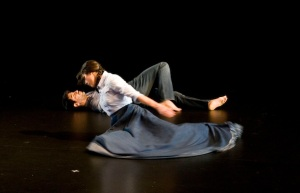 Photo by Alexandra Corazza; Dancers Julie Alexander and Kayvon Pourazar