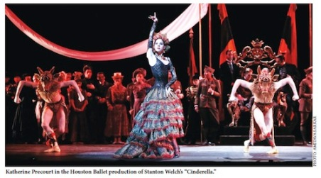 Stanton Welch's Cinderella -- Photo by Amitava Sarkar