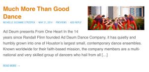 Ad Deum Dance Preview