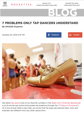 7Problems-Rockettes
