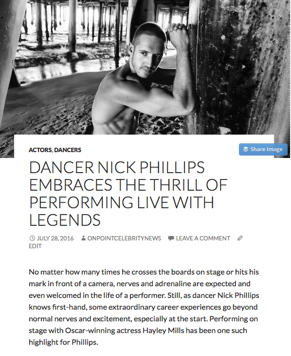 Nick Phillips in Legends