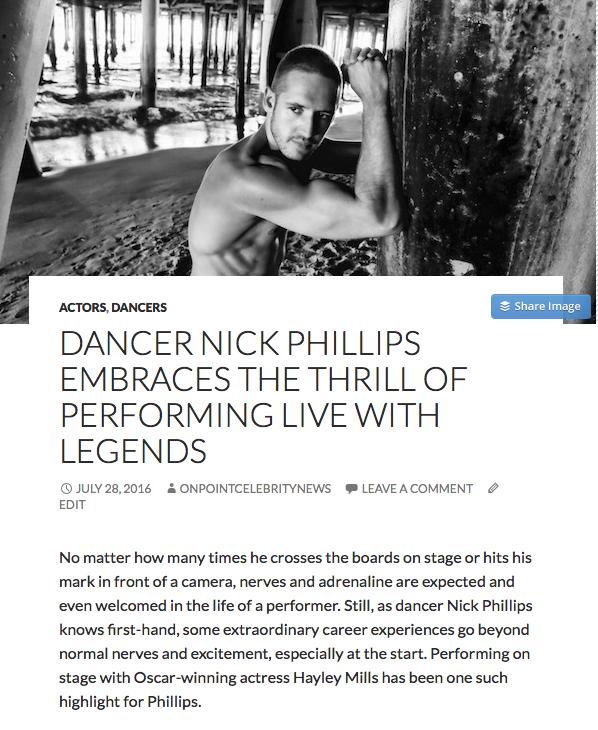 Nick Phillips in Legends