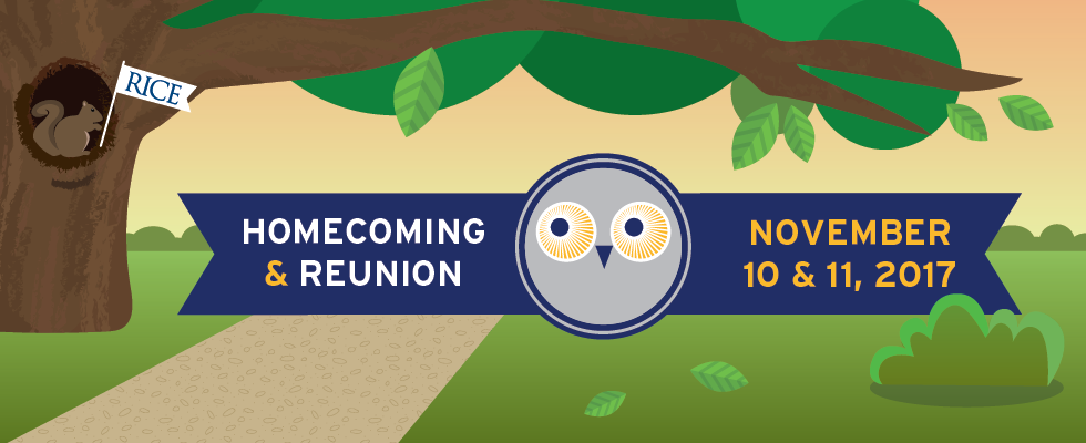 Homecoming & Reunion 2017 Banner